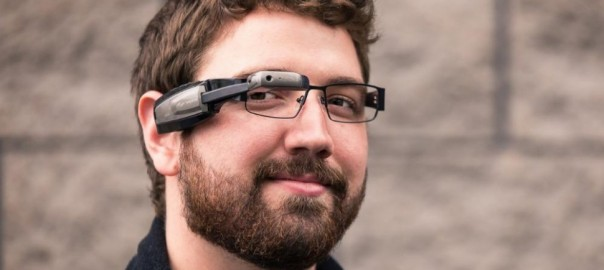 9b45f993f24 Google Glass Competitor the Vuzix s M100 teamed up with Amazon